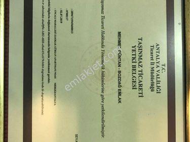 Antalya Döşemealtı Yeşilbayırda satılık ticari uygun fiyat arsa