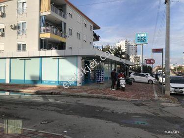 Antalya  Kepez   Teomanpaşa satılık dükkan A101 market var