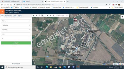 Manisa Yunusemre Dericiler Sitesi Satılık Sanayi Ticari Arsa