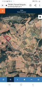 asvalt kıyısı köye yakın 5643m2 tarla arazi