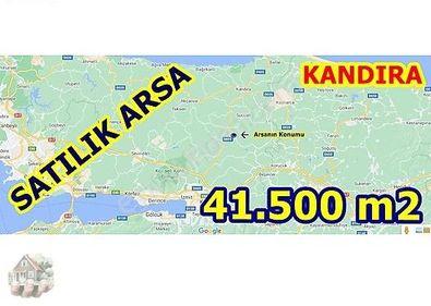 41.500 m2 Kandıra Topluca'da Satılık Arsa