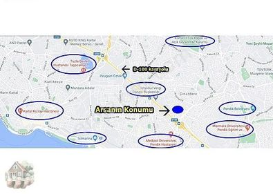 Kat Karşılığı - Kentsel Dönüşüm Yapılacak 1.950 m2 Arsa-SORUNSUZ