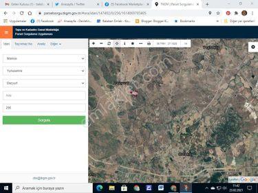 Manisa Dazyurt köyü Satılık Tarla