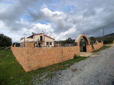 Didim Yeşiltepede 700 m2 alanda 4+1 Yapılı Villa