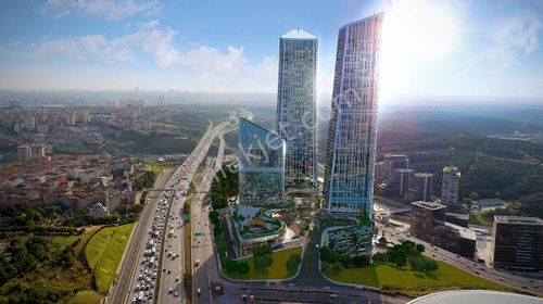 Full İstanbul Manzaralı 57.katta Eşyalı Satılık Ofis