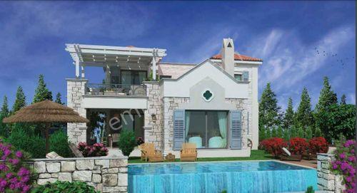 Bodrum Milas'da Boğaz Manzaralı Satılık Müstakil Villa