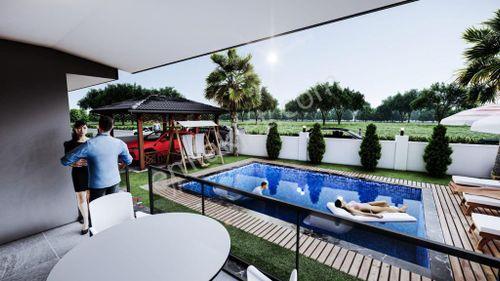 Cesur Emlak'tan Satılık Benzersiz Dublex Villa RefKod:5056