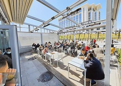 BİLKENT ŞEHİR HASTANESİNDE YÜKSEK CİROLU FAAL CAFE