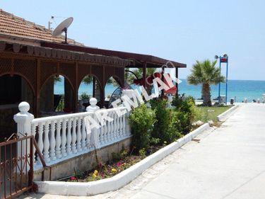 Didim huzur sitesinde kiralık denize sıfır yazlık
