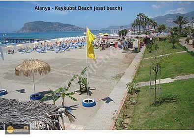 Alanya Keykubat Plajına 50 mt, Lüks 2+1 Ayrı Mutfak, GKD cephe