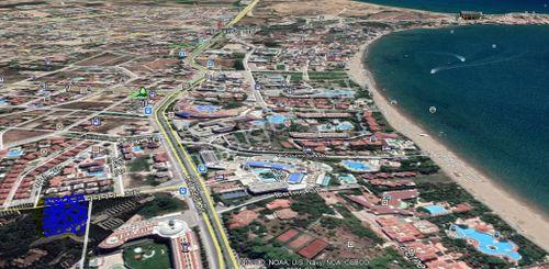 Antalya Side Mahallesinde denize 550 metre uzaklıkta arsa