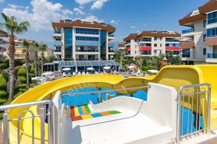 2+1 Alanya Oba`da site içi, havuzlu, aquaparklı lüx residence