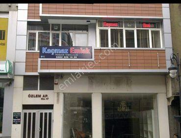 Trabzon Gazipaşa caddesinde kiralık ofis (eşyalı)