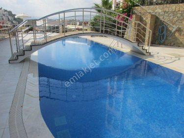 6+1 Alanya`da Deniz Manzaralı, Müstakil Havuzlu Villa
