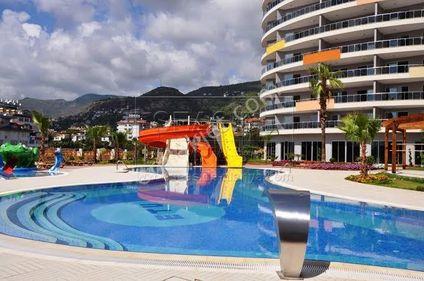 1+1 Alanya site içi havuzlu, aquapaklı residence