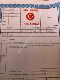 Anasultan cad Yorgancı Mah Villalık Arsa 1537 SATILIKTIR Meram