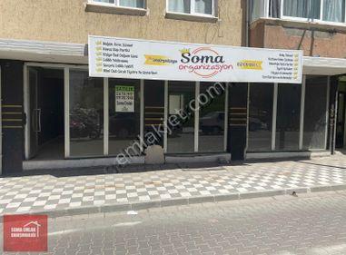 SOMA EMLAK** Satılık Caddeye 10m Cephesi Olan Dükkan