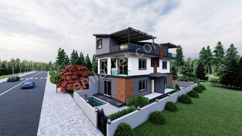 3+1 Hisar Mahallesinde  Proje Villa