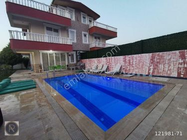 Antalya Serik Kadriye'de kiralık Lüks villar mustakil havuzlu