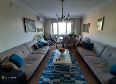 Kağıthane Hamidiye mahallesinde site de 120 m2 3+1 satılık daire