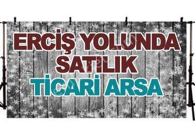 ERCİŞ YOLUNDA SATILIK TİCARİ ARSA