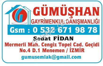 İZMİR-MENEMEN-TÜRKELLİ'de 375 m2 SATILIK KONUT ARSASI
