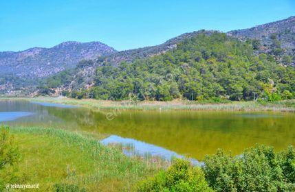 Dalaman Kapıkargında Muhteşem Göl Manzaralı 2806 m² Tarla
