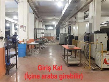 Satılık Fabrikada Damping... 1.100 Metrekaresi Düz Giriş