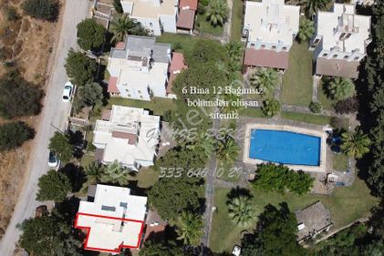 BODRUM BAĞLA da 200 m2 Bahçe içinde NET 105 m2 VİLLA (İkiz)