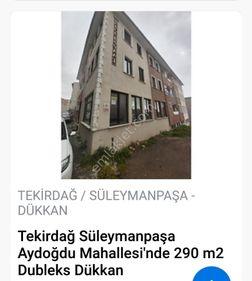 TEKİRDAĞ AYDOĞDU MAH SATILIK 290 m2 DUBLEKS İŞYERİ