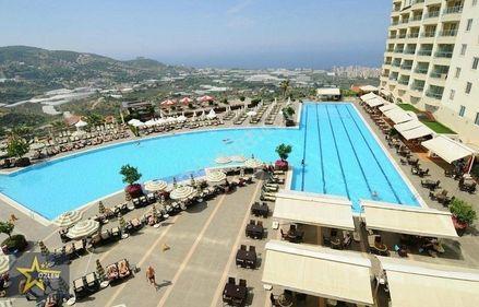 GOLDSTY HOTEL İÇİNDE 3+1 SIFIR VİLLA
