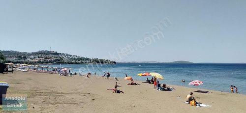Pelitkoy sahilde deniz manzaralı villa