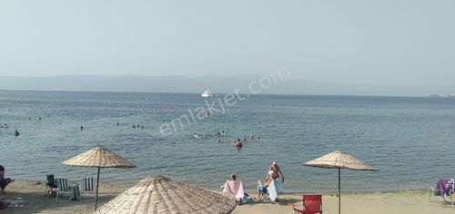 Burhaniye Pelitköy sahilde full deniz manzaralı villa