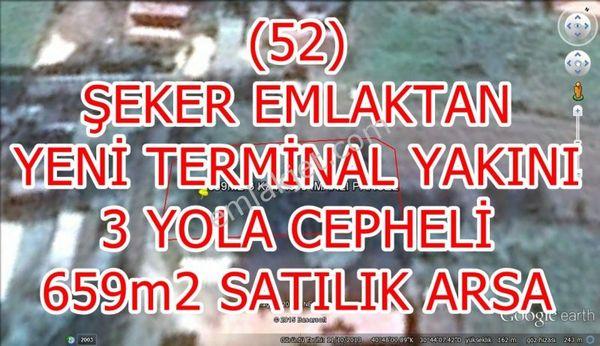 52 ŞEKER EMLAKTAN YENİTERMİNAL YAKINI 659m2-3KAT- 30 İMARLI PARS