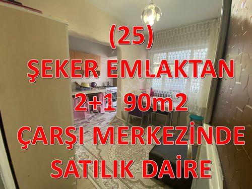 25-ŞEKER EMLAKTAN 2+1-90m² SATILIK DAİRE