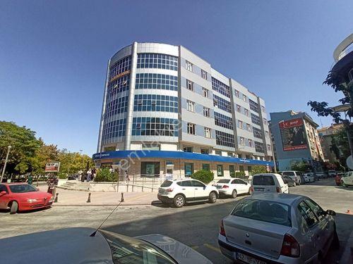 Konya Merkez Zafer'de Denizbank Kiracılı Satılık Geniş Ofis