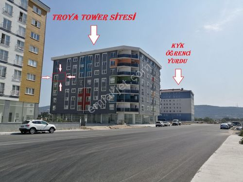 TROYA TOWER HOLLÜ KİRACILI ARA KAT KÖŞE 1+1 DAİRE !