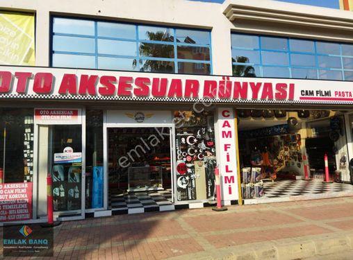 Manavgat Doğu garajı ve sanayi sitesine komşu dükkan