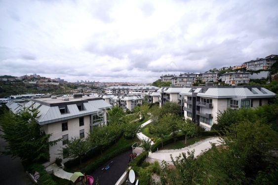 İstinye Hill Park da Kiralık Önü Açık 170m2 Lux 2+1 Eşyalı Daire