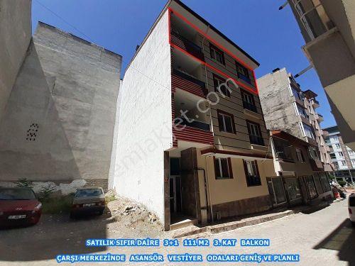 GALERİ BASRİ EMLAK - TOSYA MERKEZDE SATILIK 3+1 SIFIR DAİRE