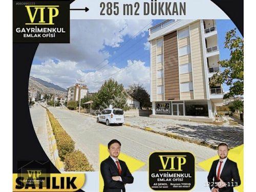 VIP GAYRİMENKULden 285m2 DUA YOKUŞU ALTI ANA YOL KENARI DÜKKAN