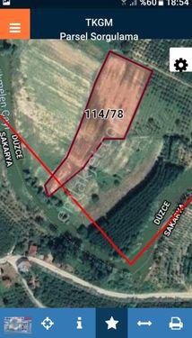 Akcakoca Nazımbey köyüde melen ırmağı ve kozluk köyü yolu üstün