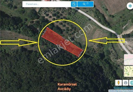 Kocaeli Karamürsel Avcıköy'de Satılık 2333 M2 Tarla