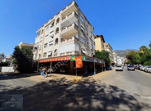 Alanya'nın Kalbi Oteller Bölgesinde Satılık Köşe Dükkan Market