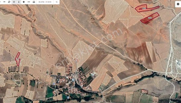 Sahibinden Sivrihisar yanyana müstakil 2 tapu 7500 m2 100.000TL