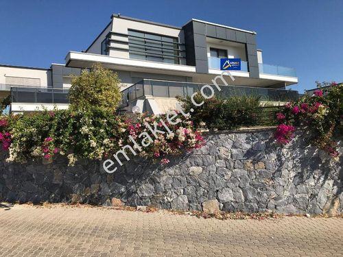 Didimde Deniz Manzaralı Havuz+Bahçeli 4+1 Ultra Lüx Villa