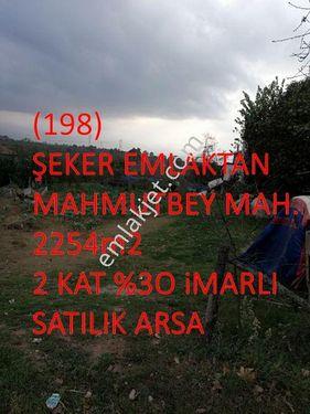 198-MAHMUTBEY MAH. 2254m2 SATILIK İMARLI ARSA