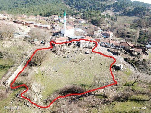 Çanakkale Ayvacık Yeniçam Köyü Satılık 1318 m2 İmarlı Arsa