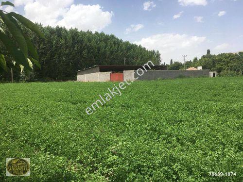 Halkapınar da 9215 m2 alan içinde 50 baş ahırlı satılık çiftlik