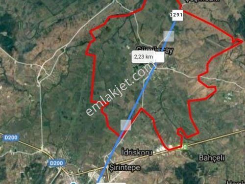 Çanakkale Biga Gümüşçay Da Sulu Tarım Arazisi 2500 M2 Satılık Ta